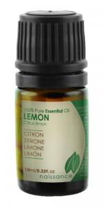 Huile essentielle de citron pressé à froid 10 ml