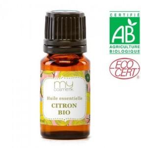 huile essentielle HE de citron bio Cosmetik