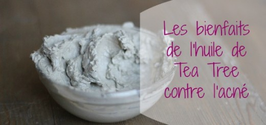 masque argile huile essentielle tea tree acne title