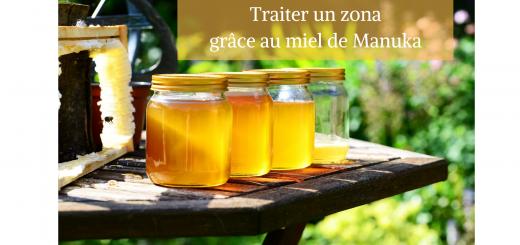 Traitement zona miel