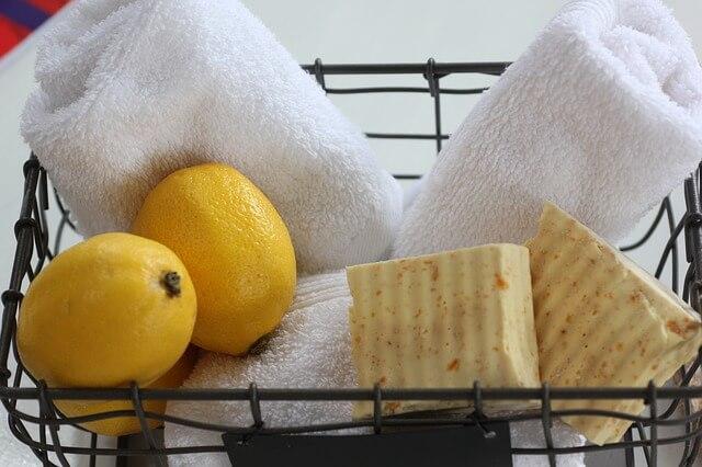 citron éclaircir le visage